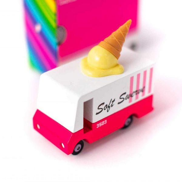 Candyvan ξύλινο όχημα Ice Cream Van